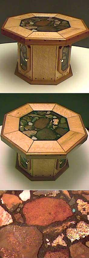 Furniture - birdseye maple wood